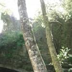 Aughnanure Castle - Flussseite