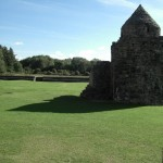 Aughnanure Castle - Innenhof