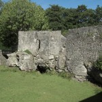 Aughnanure Castle - Mauern