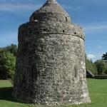 Aughnanure Castle - Turm innerer Wall