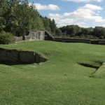Aughnanure Castle - Äußerer Wall