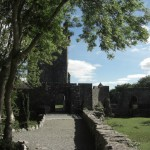 Aughnanure Castler - Eingang